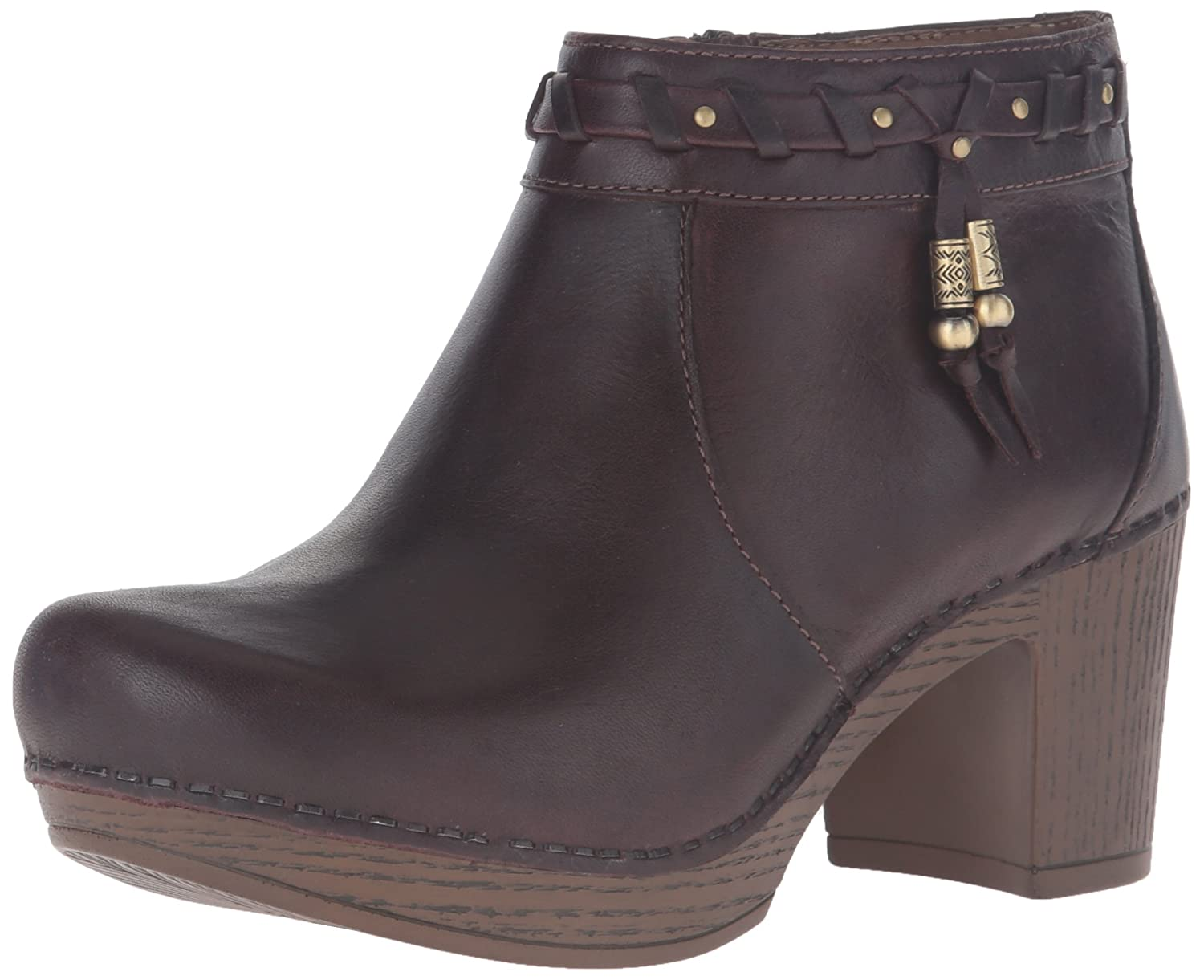 Dansko Women's Dabney Boot B019ZVU7CU 42 EU/11.5-12 M US|Chocolate Full Grain