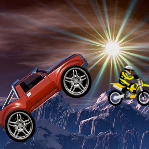 Monster Truck vs Motorcycles -