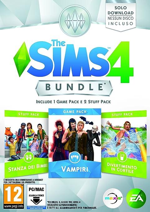 Electronic Arts The Sims 4 Bundle Pack 7, PC Básico + complemento PC Italiano vídeo - Juego (PC, PC, Estrategia): Amazon.es: Videojuegos