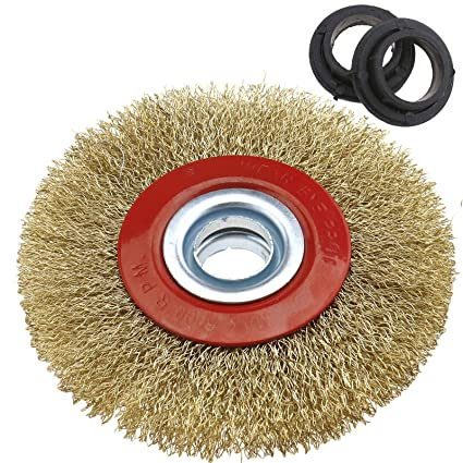 Amazon Com Sing F Ltd Wire Brush Wheel 125mm 5 Bench