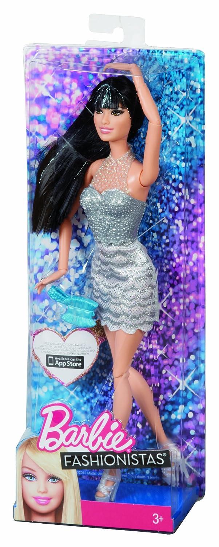 Barbie Fashionistas Raquelle Fashion Doll Y7492