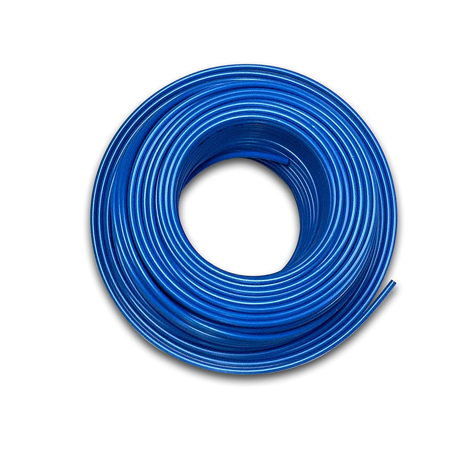 Food Grade 1/4 Inch Plastic Tubing for RO Water Filter System, Aquariums, Refrigerators, ECT (30 Feet, Blue)