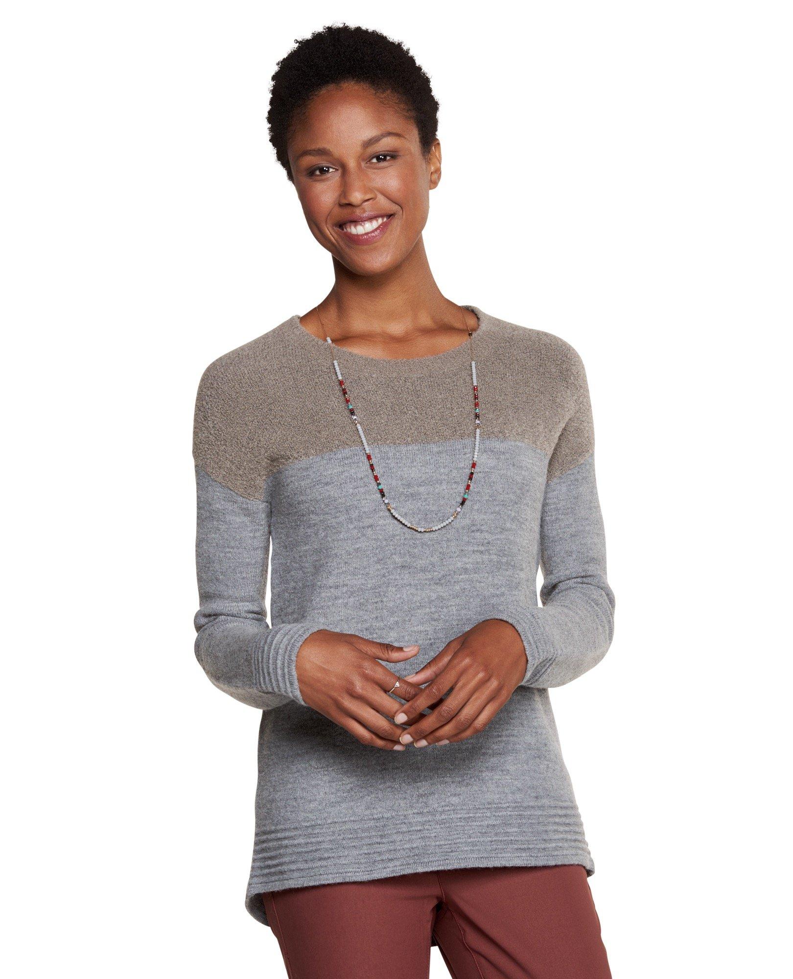 Toad&Co Women's Kaya Crew Sweater, Cocoa, Medium