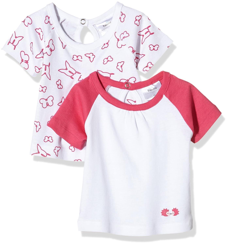 Twins 112802/AMZ - T-Shirt - Manches Courtes - Bébé Fille Julius Hüpeden GmbH 123738