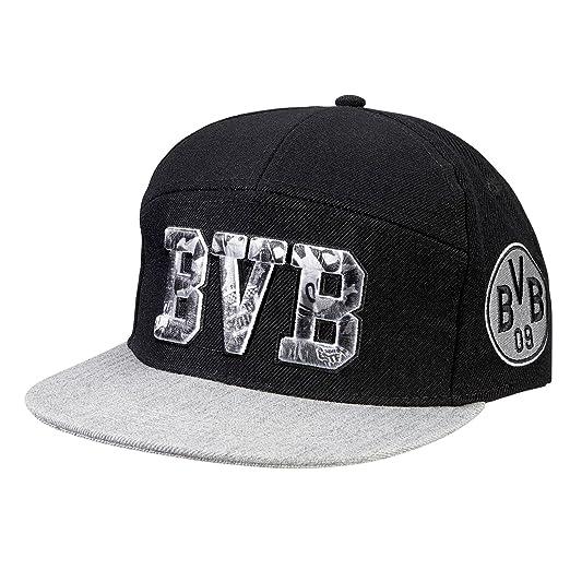 BVB-Kappe (schwarz) one size  Amazon.de  Sport   Freizeit c4bc1ed38a