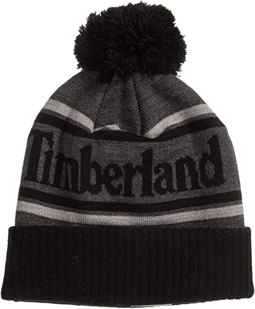 Men/'s Timberland Beanie /& Scarf Ribbed Gift Set New Boxed One Size