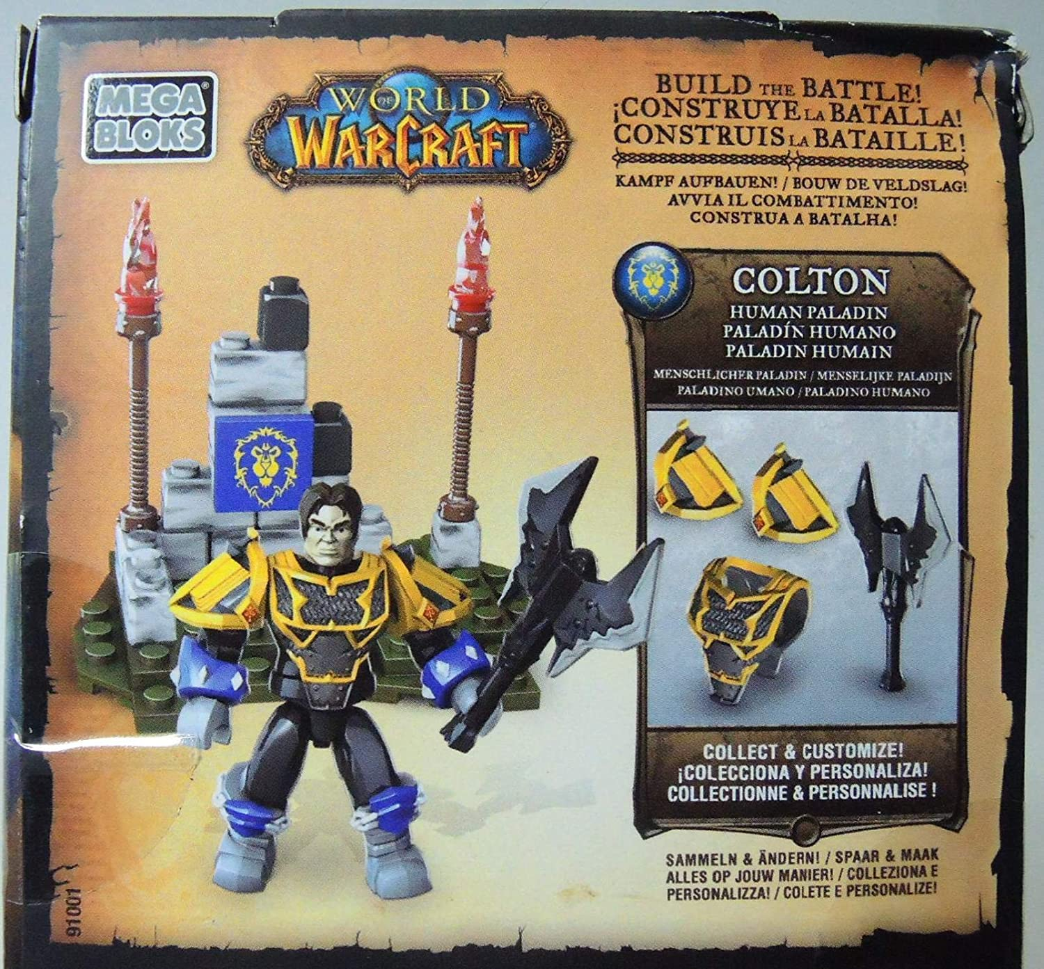 World of Warcraft Colton Mega Bloks 28 Teile Baukästen & Konstruktion