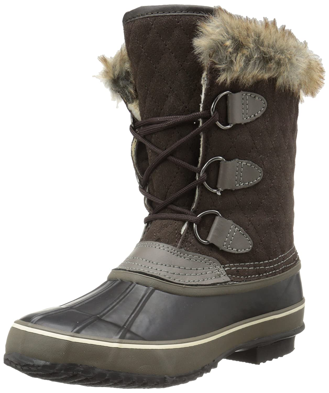 Northside Women's Mont Blanc Waterproof Snow Boot B00I5G487M 7 B(M) US|Dark Brown