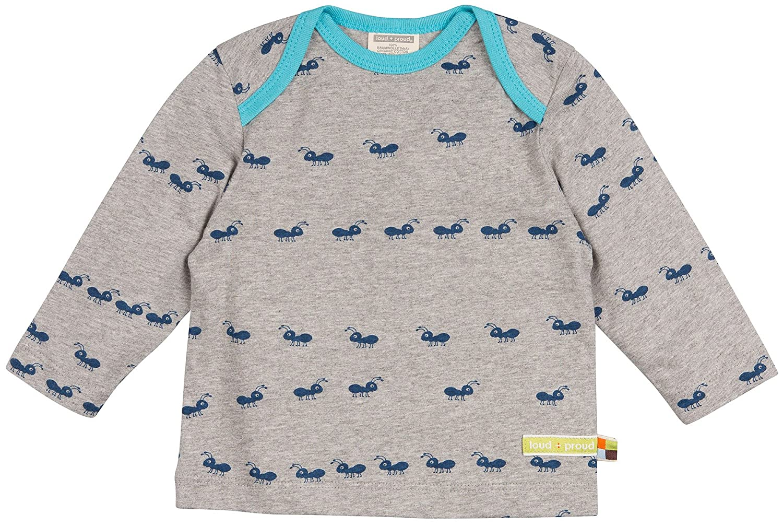 loud + proud Shirt, Druck aus Bio Baumwolle