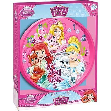 Pendule Horloge Princesse Disney Palace Pets Decoration Chambre