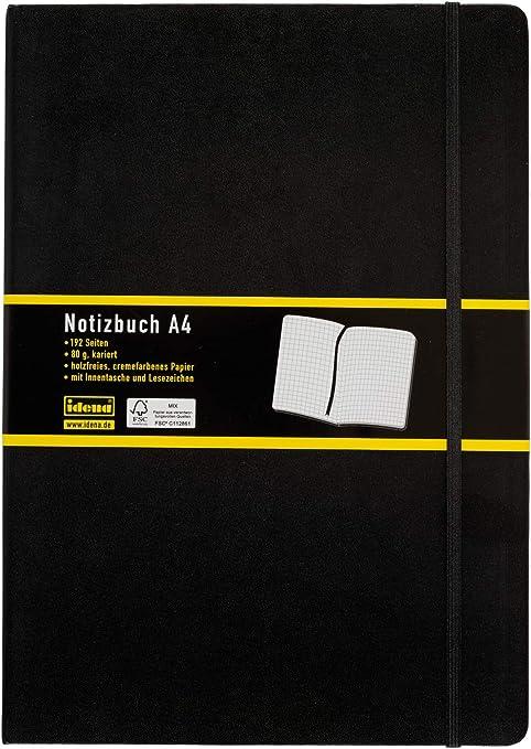 Notizbuch A4 80 h kariert