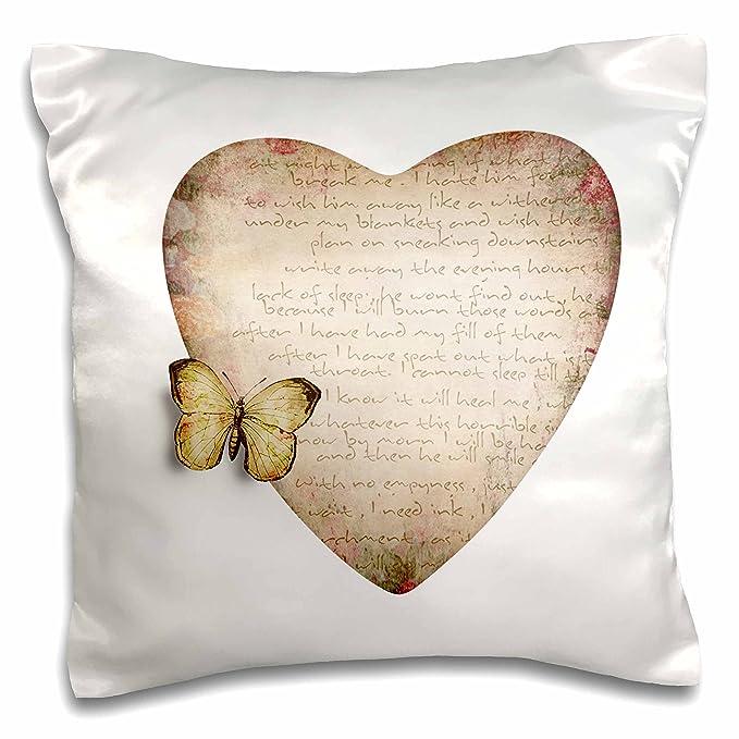 Anne Marie Baugh - corazones - Antiqued Sepia corazón con ...