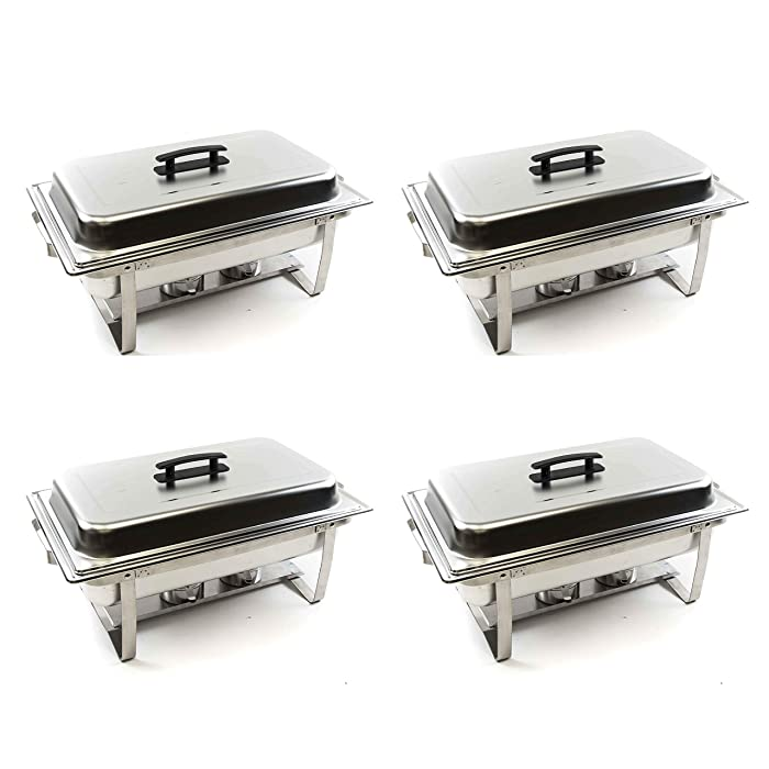 The Best 8 Quart Stainless Steel Chafer Food Pan