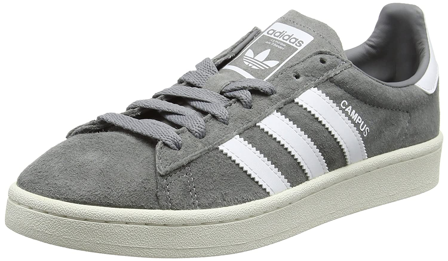 40652a61 Amazon.com | adidas Originals Men's Campus Suede Sneakers Grey in Size US  10.5 Men = 11.5 Women | Fashion Sneakers