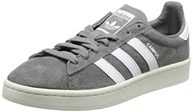 adidas Originals Mens Campus Suede Sneakers Grey in Size US 8 Men=9 Women