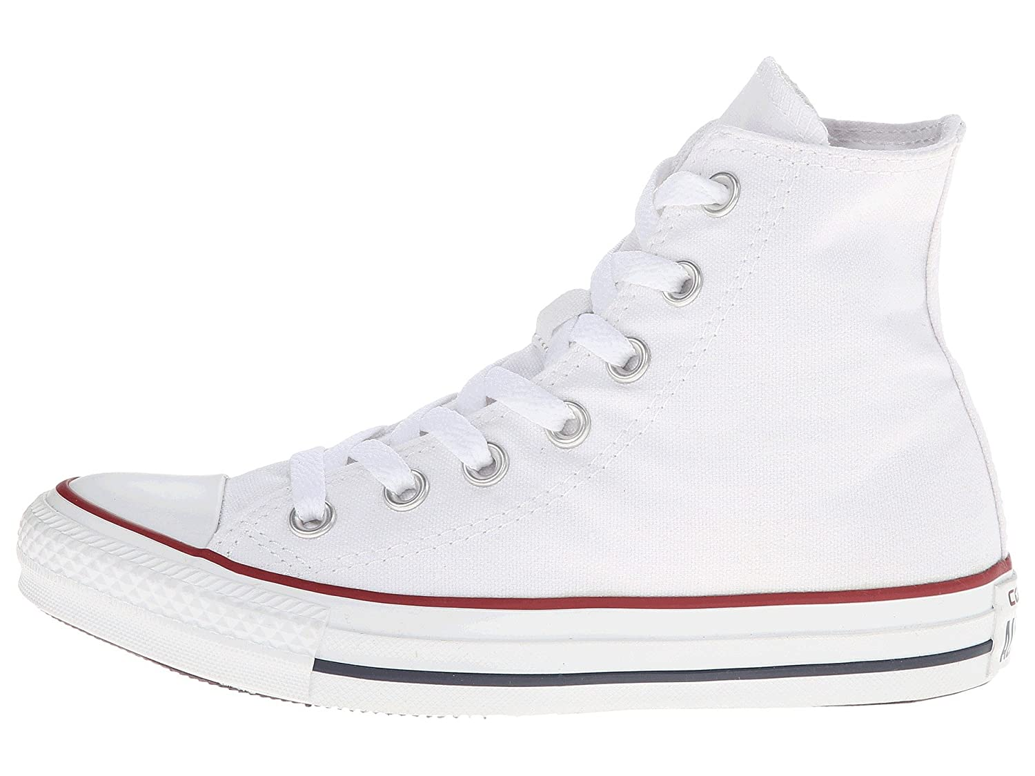 Converse Unisex Chuck Taylor All Star Hi Top Sneaker B077PMY99Y 15 B(M) US Women / 13 D(M) US Men|Optical/White