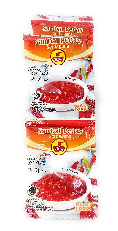 Finna Uleg Sambal Pedas Serbaguna (Chili Sauce Paste) 10-ct, 200 Gram
