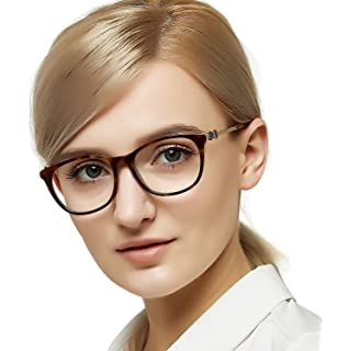 28e068e15a70 OCCI CHIARI Women Casual Eyewear Frames Non-Prescription Clear Lenses  eyeglasses