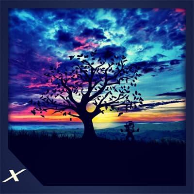 Animated Sun Rise Ambience - A Beautiful Morning Scene