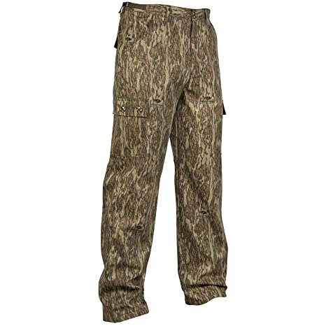 6aba5757e46c0 Amazon.com : Mossy Oak Youth Boys Camouflage Cotton Mill Hunting Pants  Available in Multiple Camo Patterns : Sports & Outdoors