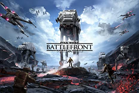 CGC enorme cartel - Star Wars Battlefront - PS4 - XBOX ONE SWB011 ...