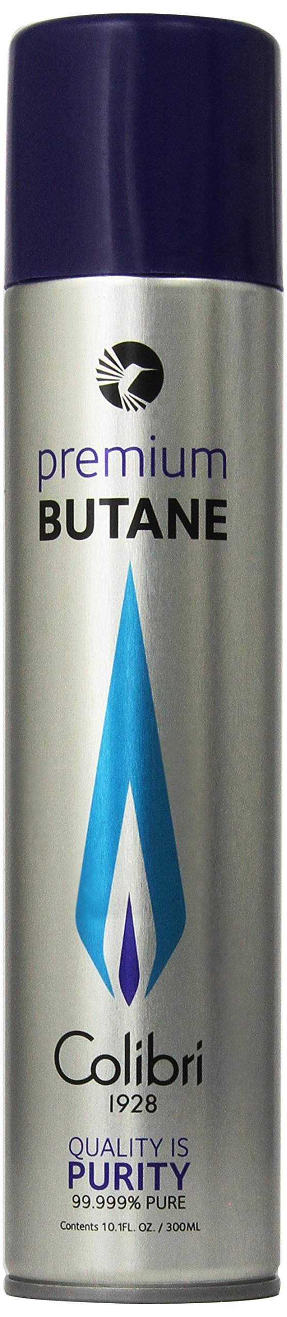 Colibri Premium Butane Large Can - 300 ML 2-Pack