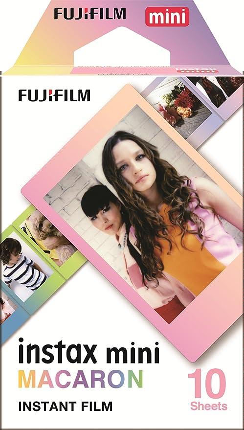 Amazon.com: Fujifilm Instax Mini Macaron Film película para ...