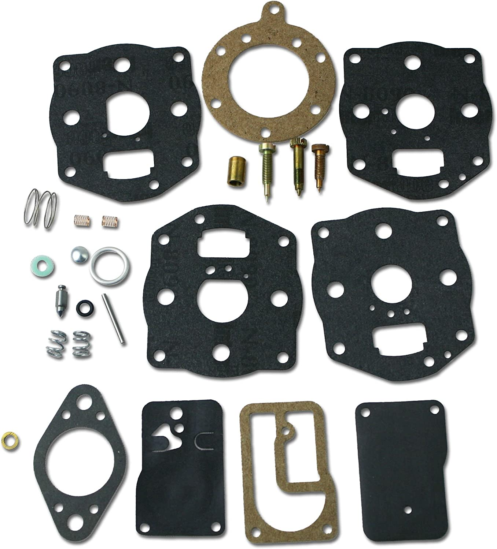 Sourcingmap Carburetor Overhaul Kit for Briggs Stratton 696146 Size 696147 Carb Gas Engine Motor