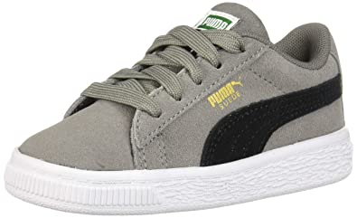201fa77ce59 PUMA Baby Suede Classic Sneaker Charcoal Gray Black