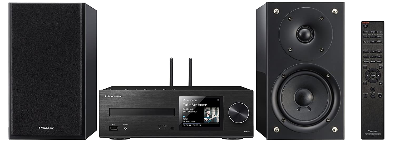 Pioneer X-HM76D-BB - Sistema Hight Micro (amplificadores Clase D y 50 x 2 vatios de Potencia, Radio Digital Dab, WiFi y Bluetooth): Amazon.es: Electrónica