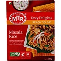 MTR Ready to Eat, Masala Rice, 250g Pack