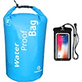 Freegrace Waterproof Dry Bag - Lightweight Dry Sack with Seals and Waterproof Case - Float on Water - Keeps Gear Dry for Kaya