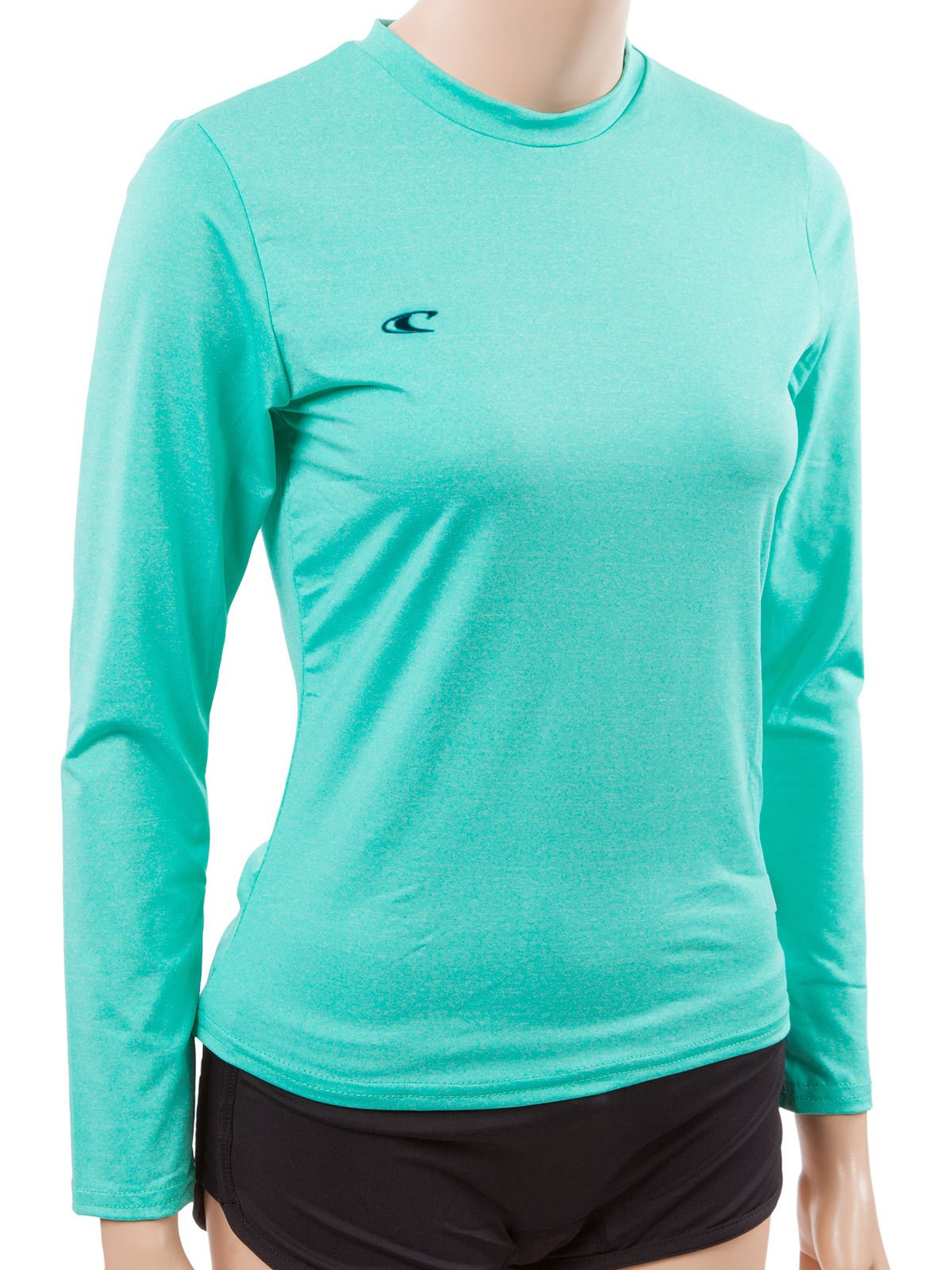 O'Neill Women's 24/7 Hybrid Long Sleeve Sun Tee MT Seaglass (4676IL) by O'Neill Wetsuits