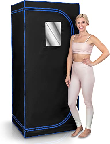 Serenelife Portable Full Size Infrared Home Spa| One Person Sauna |