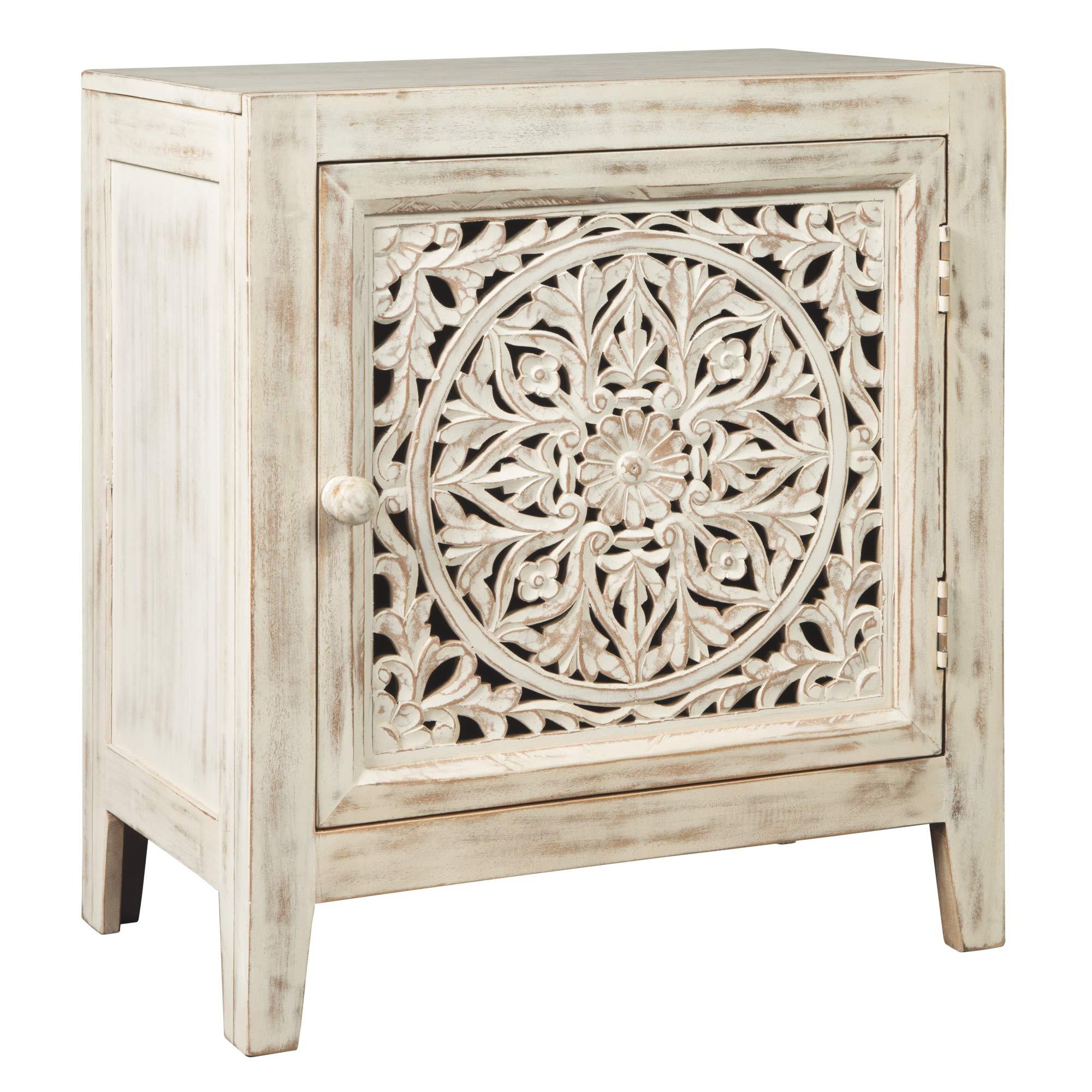 Ashley Furniture Signature Design - Fossil Ridge Accent Cabinet - White by Signature Design by Ashley