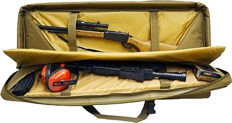 EXPLORER hs42 múltiples Estuche para Escopeta con Correas de compresión - HS42, Bronceado: Amazon.es: Deportes y aire libre