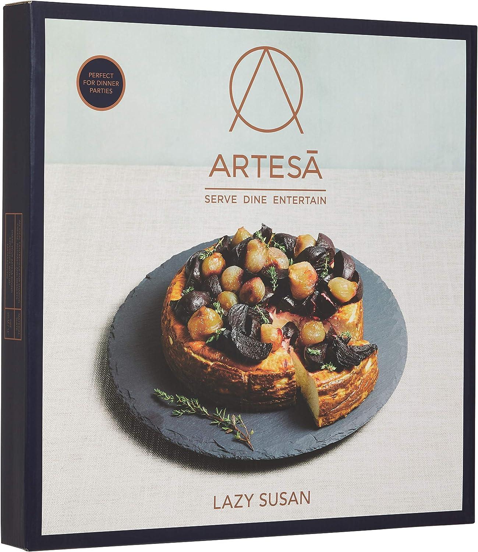 Plato giratorio MasterClass Artesà Lazy Susan de pizarra de 35 cm ...
