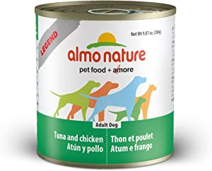 Almo Nature 1911 Legend Dog Tuna And Chicken Pet Food, 12 X 280 G/9.87 Oz