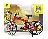 HAPTIME 6.92 inch Zinc Alloy Racing Bicycle