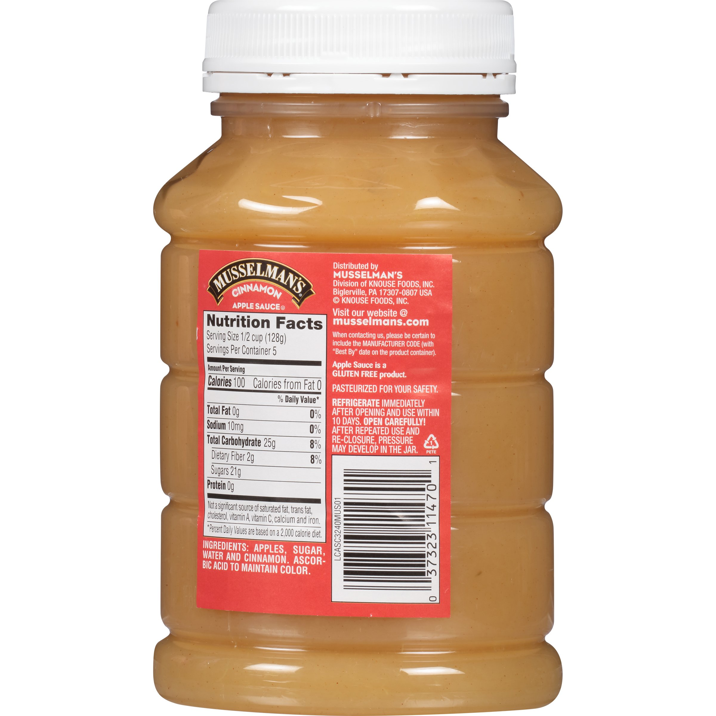 Musselman's Cinnamon Apple Sauce, 24 Ounce (Pack of 12) by Musselmans (Image #2)