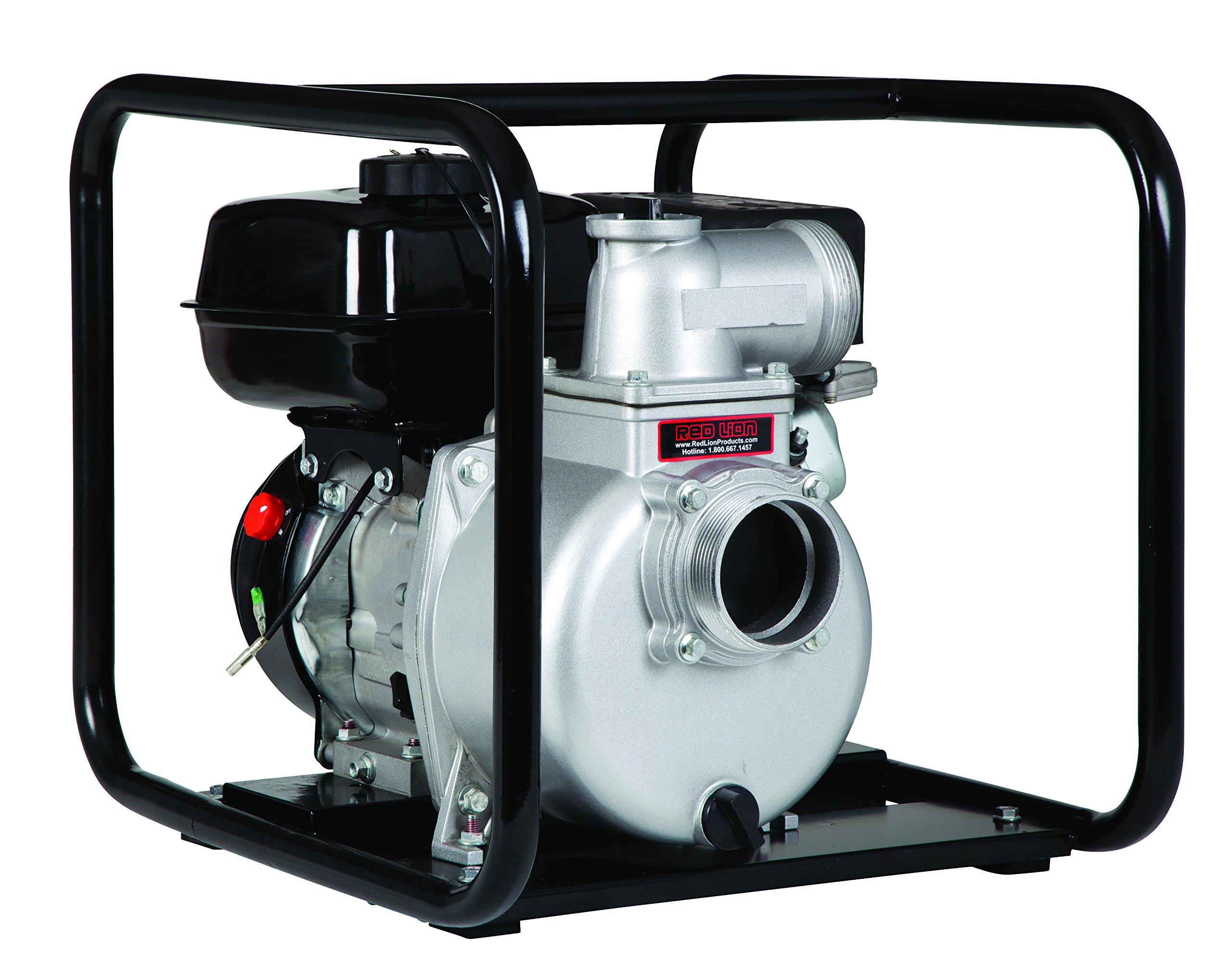 Red Lion 6RLAG-3ST 6-HP OHV Engine Driven NPT Semi-Trash Pump, 3-Inch