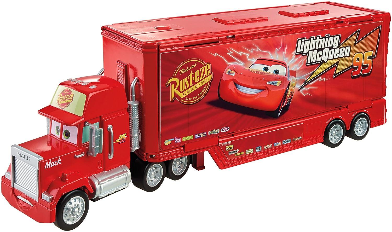 Amazon.com: Disney/Pixar Cars Mack Action Drivers Playset: Toys & Games