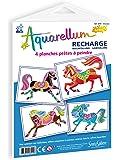Sentosphère - 691R - Recharge - Aquarellum Junior - Chevaux