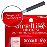 SmartLife Lip Balm, Strawberry, 3 Count