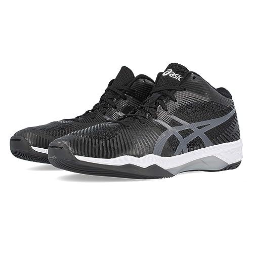 Asics Chaussures Montantes Volley Elite FF Noir: Amazon.es