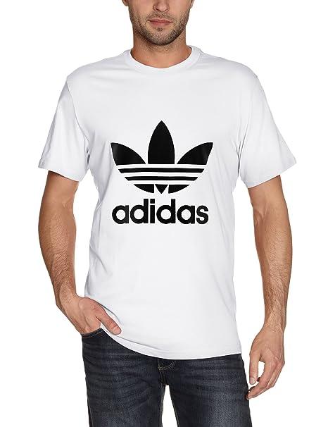 f12028d94290 adidas, Maglietta uomo Trefoil Maglietta: adidas Originals: Amazon.it:  Abbigliamento
