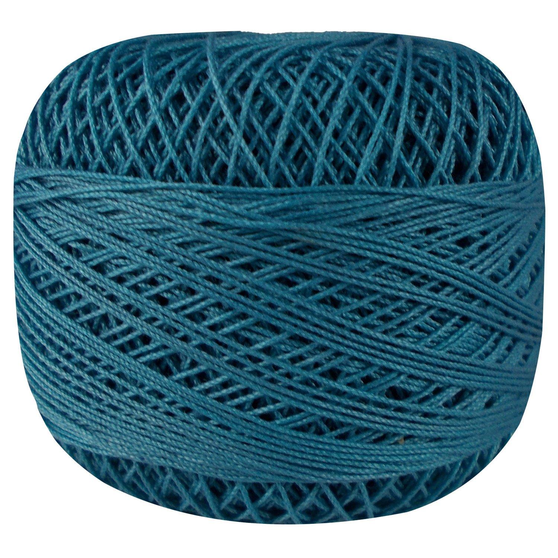 Set of 10 Pcs Gray Turquoise Cotton Crochet Thread Cross Stitch Knitting Yarn Tatting Doilies Skeins Lacey Craft by CraftyArt (Image #3)