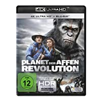 Planet der Affen: Revolution  (4K Ultra-HD) (+ Blu-ray) [Alemania] [Blu-ray]