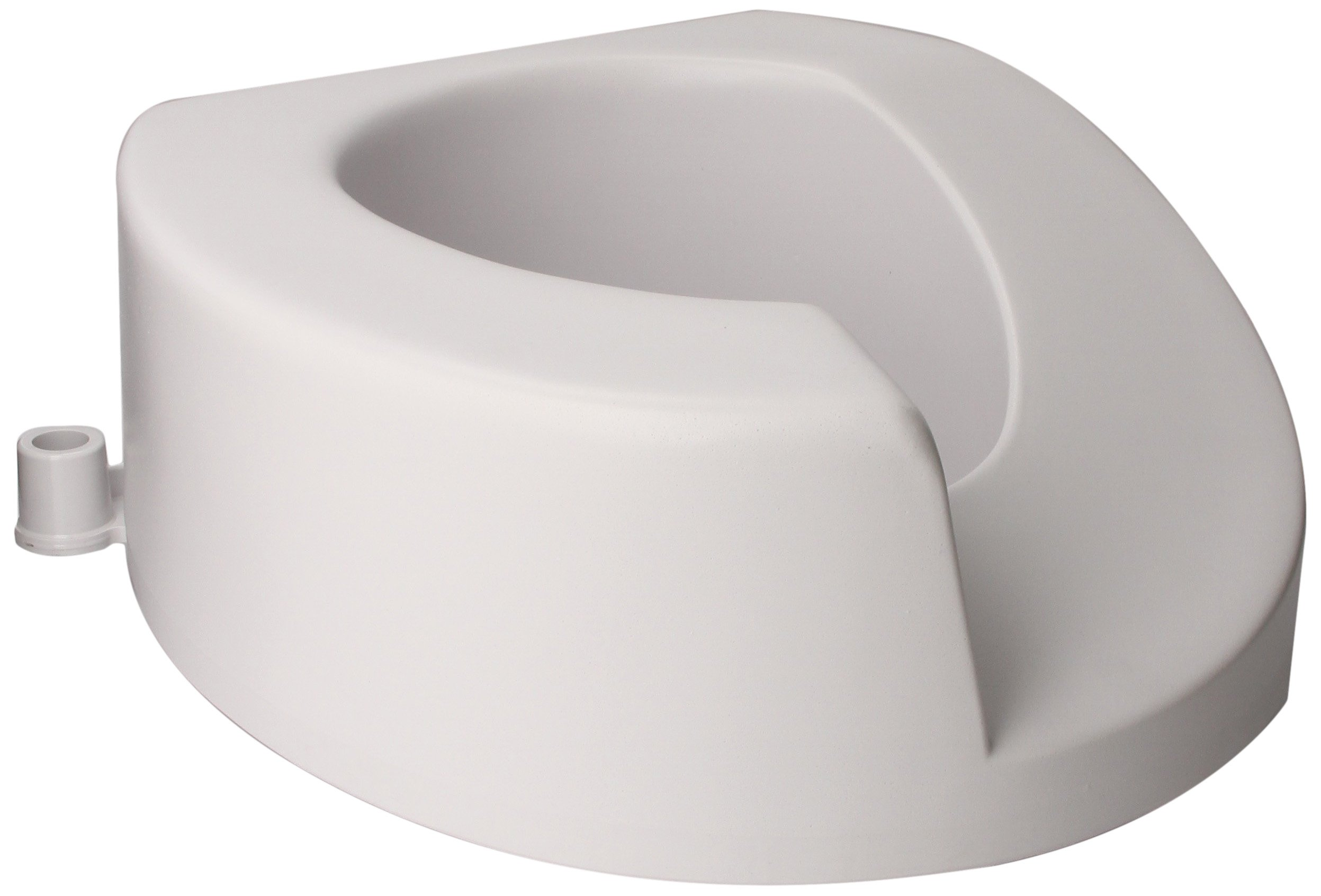 Maddak Left Elongated Elevated Toilet Seat (725901001) by SP Ableware
