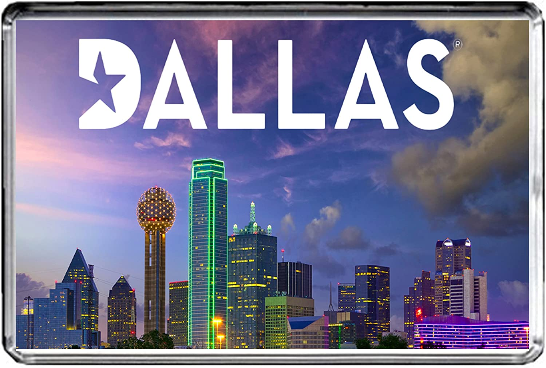 USA E332 Dallas Texas Aimant pour Le FRIGO Travel Photo Refrigerator Magnet